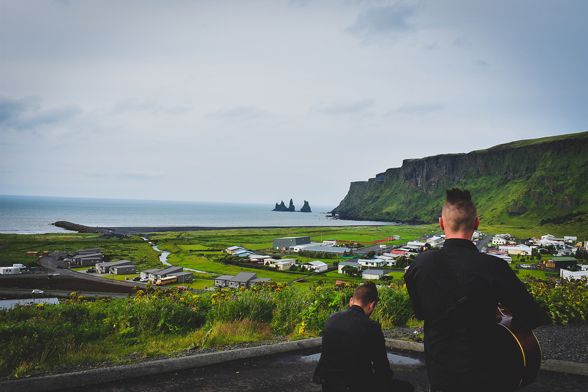 Playing in Iceland