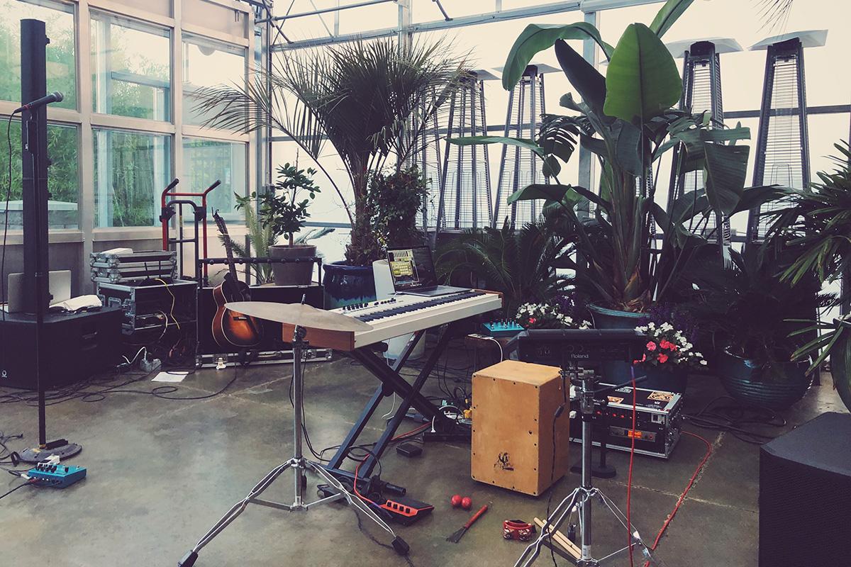 acoustic setup