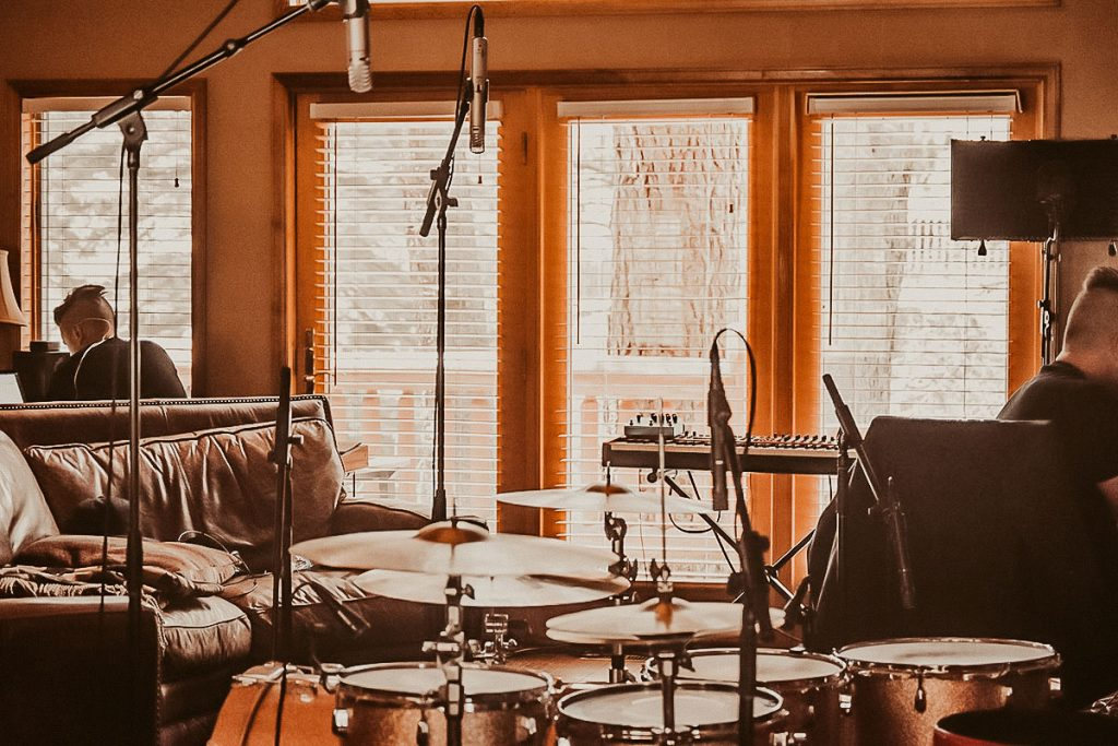 Recording at the Blue Spruce
